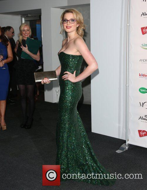 Helen Flanagan Specsavers Spectacle Wearer of the Year...