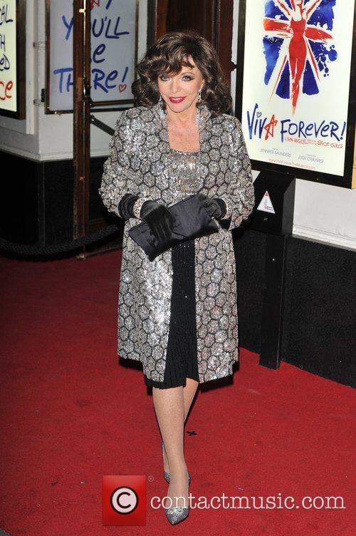 Joanne Collins Viva Forever VIP night held at...