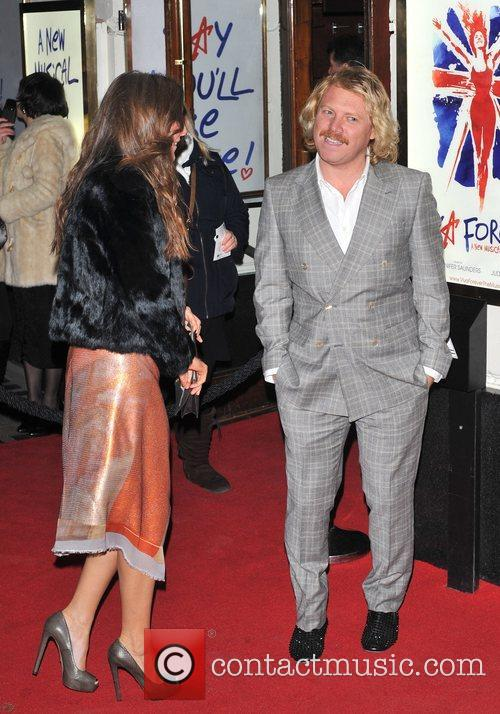 Leigh Francis and guest Viva Forever VIP night...