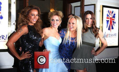 Melanie Brown, Mel B, Geri Halliwell, Emma Bunton, Melanie Chisholm and Mel C 7