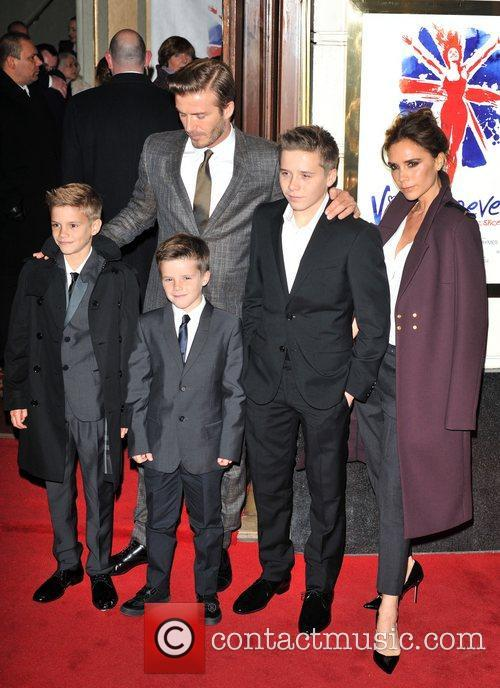 Victoria Beckham, David Beckham, Brooklyn, Romeo, Cruz