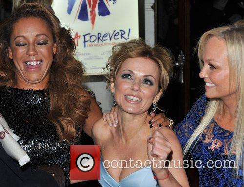 Emma Bunton, Melanie Brown and Geri Halliwell 6