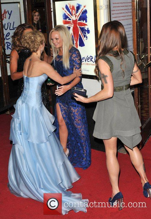 Emma Bunton, Melanie Chisholm, Melanie Brown and Geri Halliwell 9
