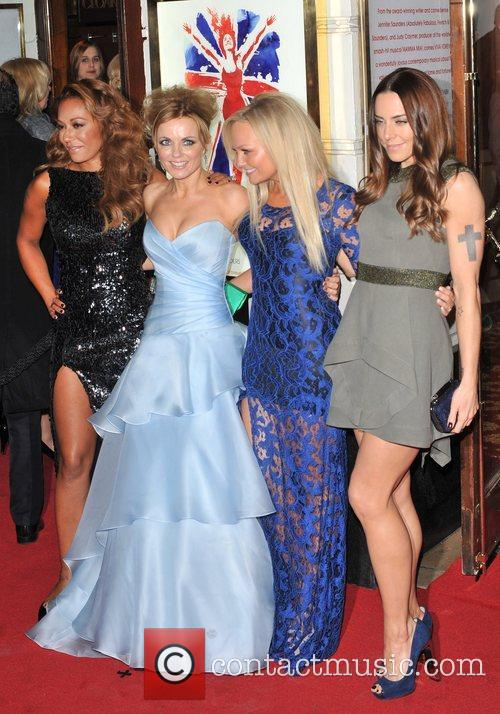 Emma Bunton, Melanie Chisholm, Melanie Brown and Geri Halliwell 13
