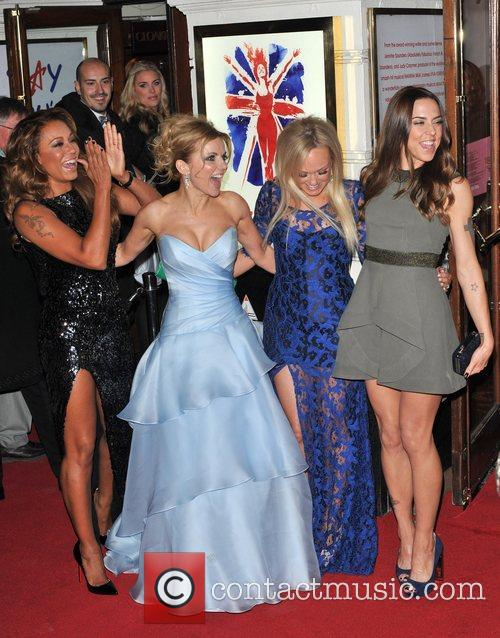 Emma Bunton, Melanie Chisholm, Melanie Brown and Geri Halliwell 15