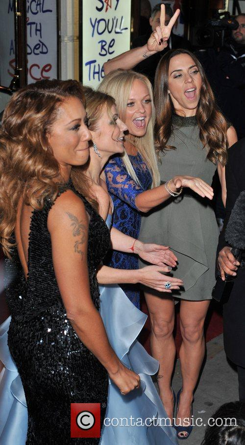 Emma Bunton, Melanie Chisholm, Melanie Brown and Geri Halliwell 1