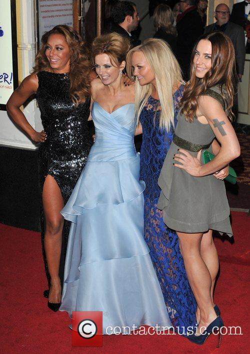 Emma Bunton, Melanie Chisholm, Melanie Brown and Geri Halliwell 10
