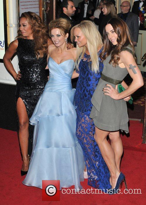 Emma Bunton, Melanie Chisholm, Melanie Brown and Geri Halliwell 12
