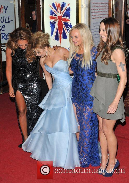 Emma Bunton, Melanie Chisholm, Melanie Brown and Geri Halliwell 8