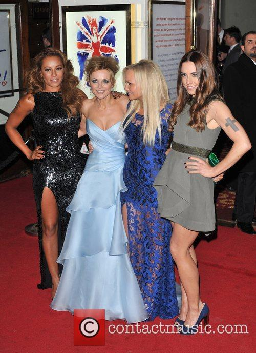 Emma Bunton, Melanie Chisholm, Melanie Brown and Geri Halliwell 17