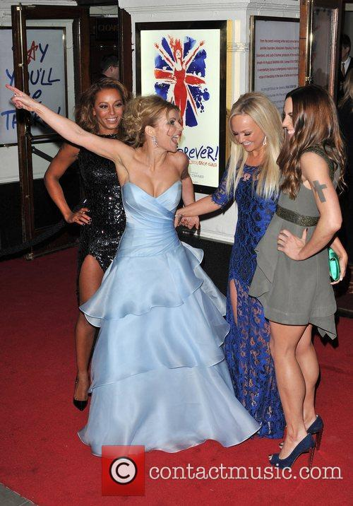 Emma Bunton, Melanie Chisholm, Melanie Brown and Geri Halliwell 16