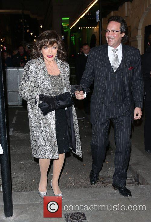 Joan Collins and Percy Gibson VIVA Forever Spice...