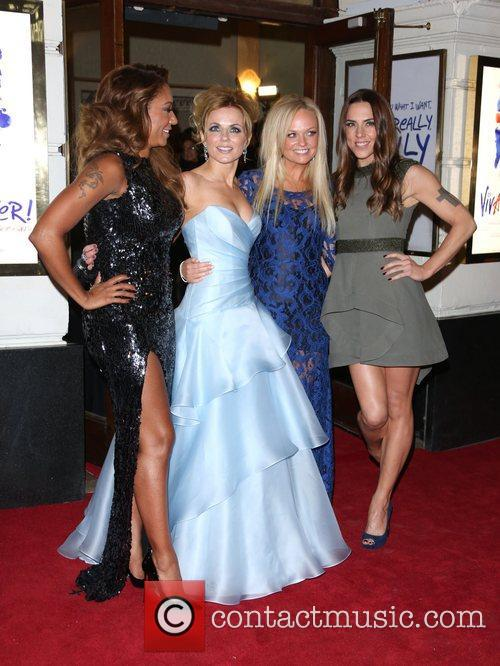 Melanie Brown, Mel B, Geri Halliwell, Emma Bunton, Melanie Chisholm and Mel C 10