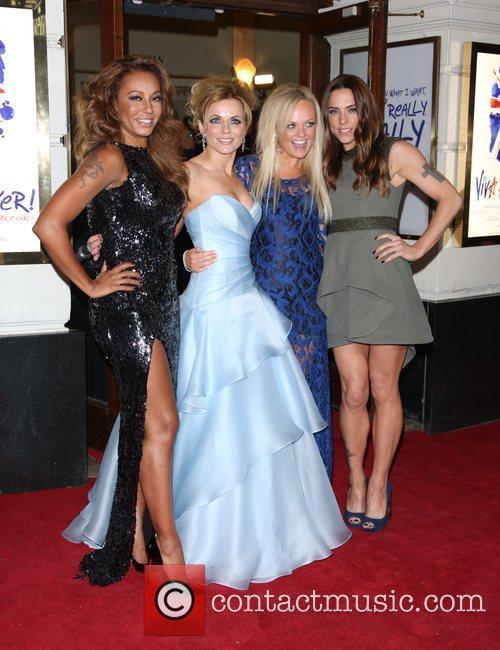 Melanie Brown, Mel B, Geri Halliwell, Emma Bunton, Melanie Chisholm and Mel C 1