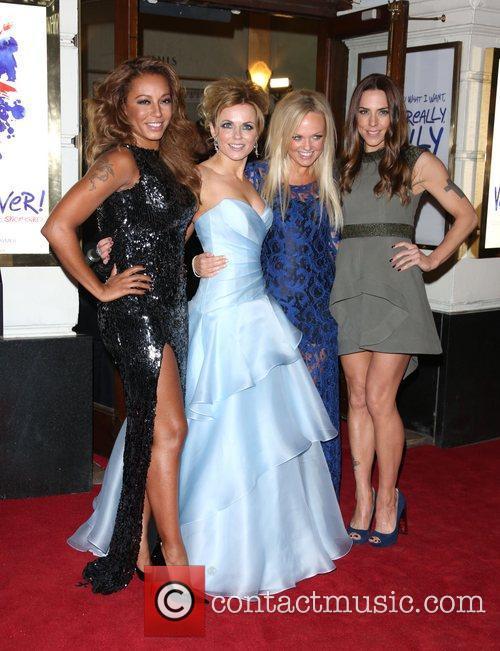 Melanie Brown, Mel B, Geri Halliwell, Emma Bunton, Melanie Chisholm and Mel C 6