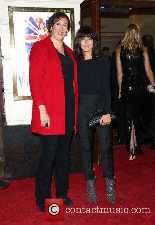 Miranda Hart and Claudia Winkleman VIVA Forever Spice...