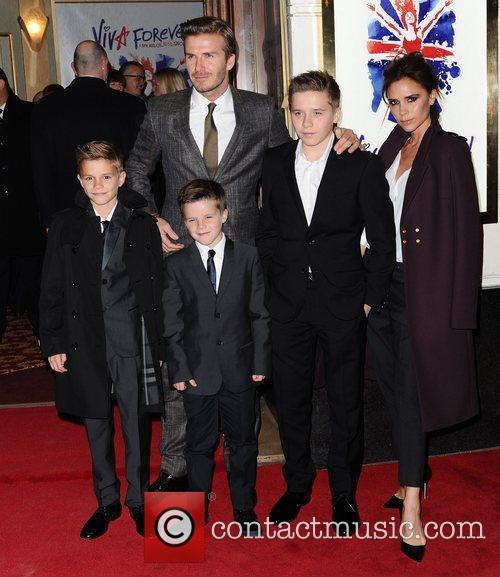 David, Victoria Beckham, Viva Forever, Piccadilly Theatre, London and England 4