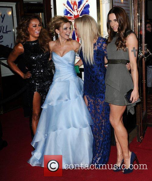 Mel B, Geri Halliwell, Emma Bunton, Mel C, Viva Forever, Piccadilly Theatre, London and England 1