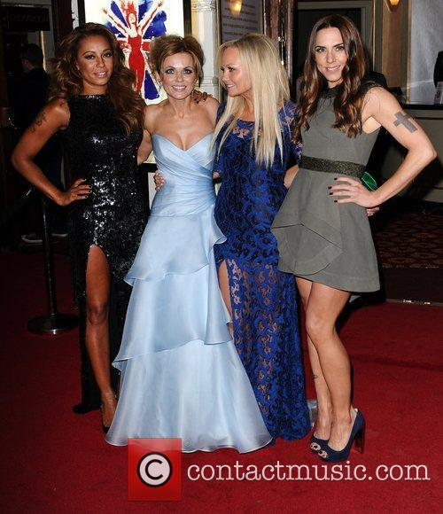 Mel B, Geri Halliwell, Emma Bunton, Mel C, Viva Forever, Piccadilly Theatre, London and England 6
