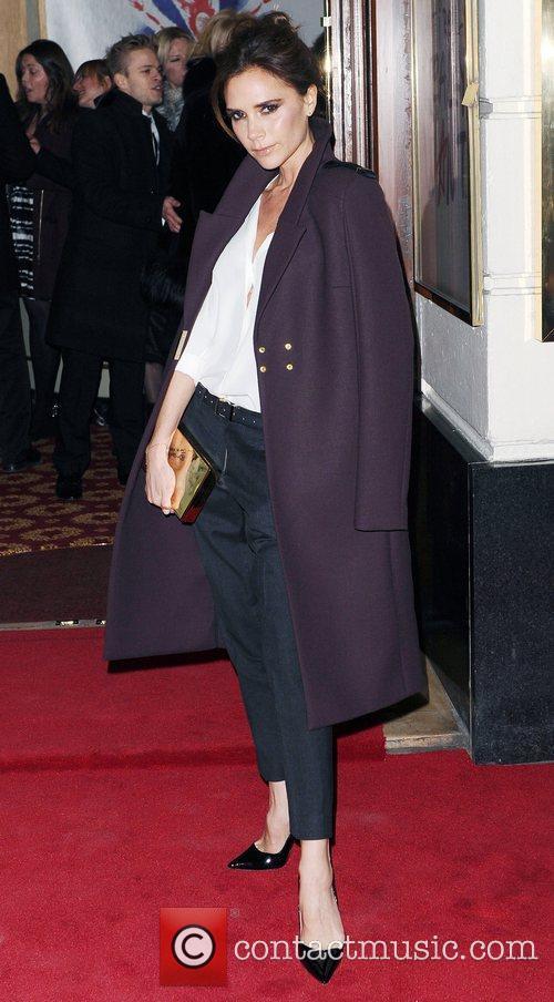 Victoria Beckham at the press night of
