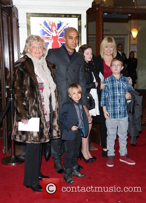 Jade Jones, son Beau and family VIVA Forever...