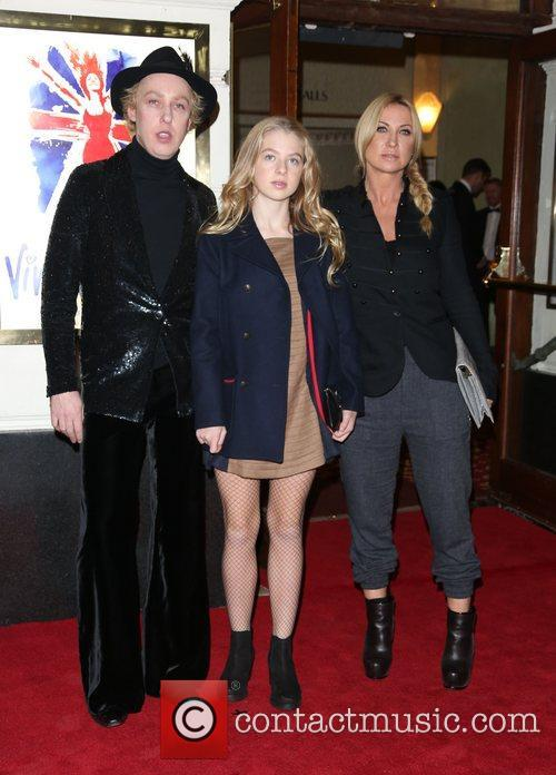 James Brown, Anais Noel Gallagher and Meg Mathews 1
