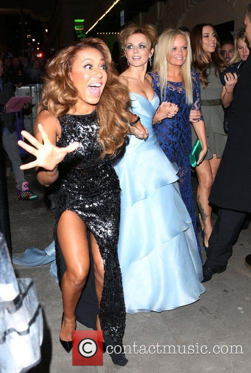 Melanie Brown, Mel B, Geri Halliwell and Emma Bunton 3