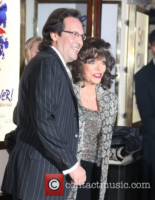 Percy Gibson and Joan Collins 1