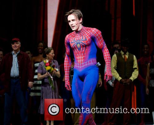 Spider-man, Turn Off, Dark, Year Anniversary and Foxwoods Theatre 10