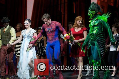 Spider-man, Turn Off, Dark, Year Anniversary and Foxwoods Theatre 5