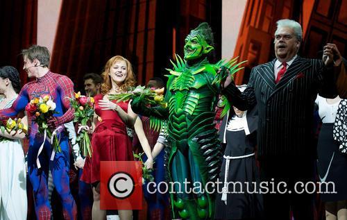 Spider-Man, Turn Off, Dark, Year Anniversary and Foxwoods Theatre 1