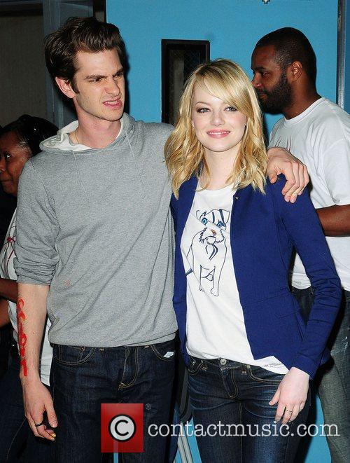 Andrew Garfield and Emma Stone 2
