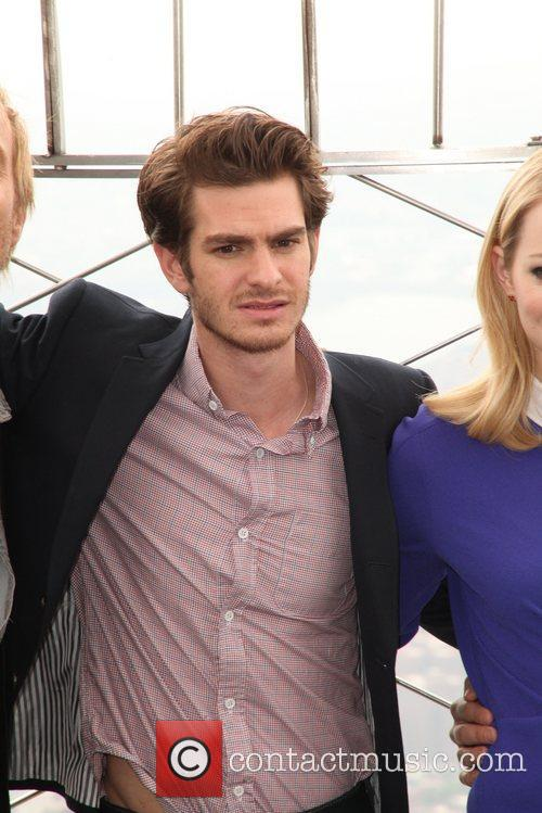 Andrew Garfield, Denis Leary, Emma Stone and Marc Webb 4