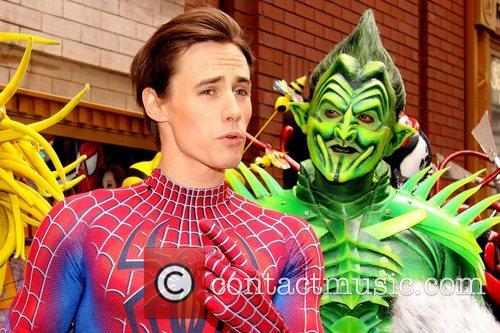 Reeve Carney and Robert Cuccioli  'Spider-Man Turn...
