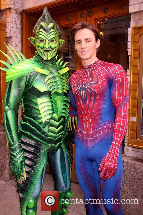 Robert Cuccioli and Reeve Carney  'Spider-Man Turn...