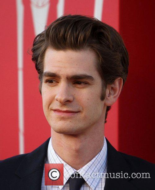 Andrew Garfield Los Angeles premiere of 'The Amazing Spider-Man'