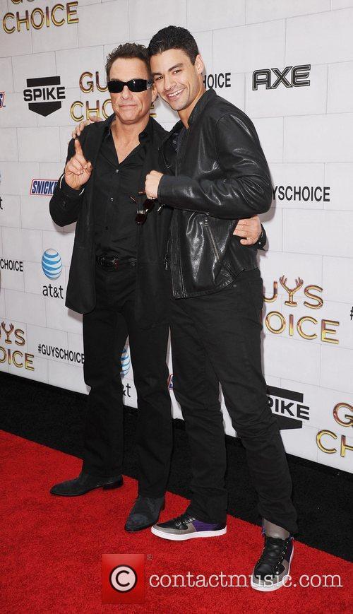 Jean-Claude Van Damme and Kristopher Van Damme Spike...
