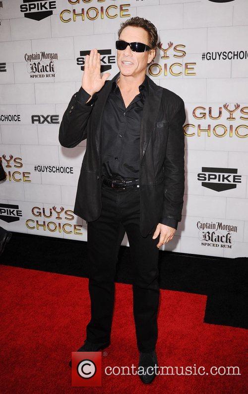 Jean-Claude Van Damme Spike TV's 2012 Guys Choice...