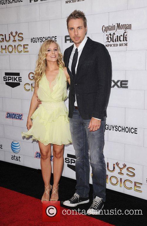 Kristen Bell and Dax Sherpard Spike TV's 2012...