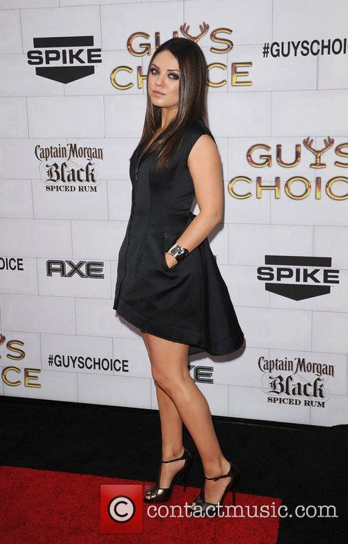 Mila Kunis Spike TV's 2012 Guys Choice held...