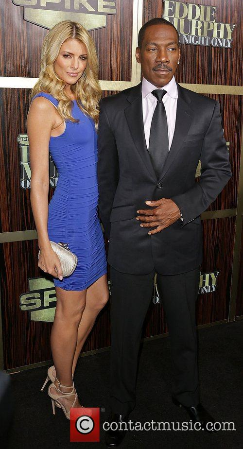 Eddie Murphy's girlfriend Paige Butcher and the Hollywood star