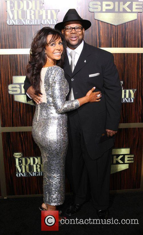 Lisa Padilla and Jimmy Jam  Spike TV's...