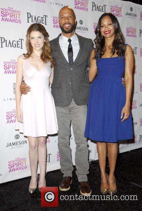 Anna Kendrick, Common and Zoe Saldana 4