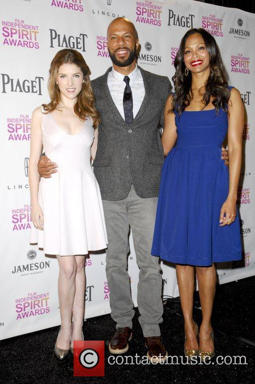 Anna Kendrick, Common and Zoe Saldana 2
