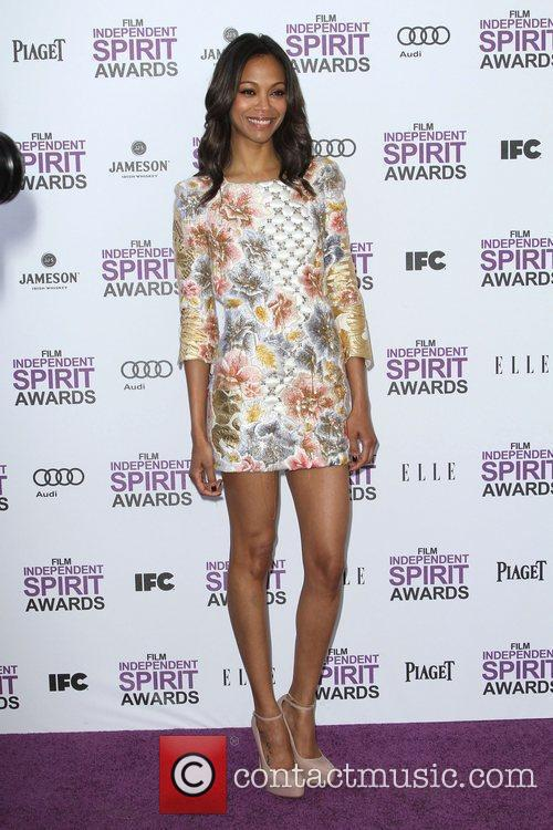 Zoe Saldana and Independent Spirit Awards 8