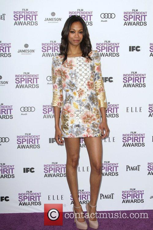 Zoe Saldana and Independent Spirit Awards 10