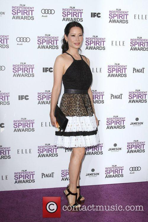 Lucy Liu and Independent Spirit Awards 2