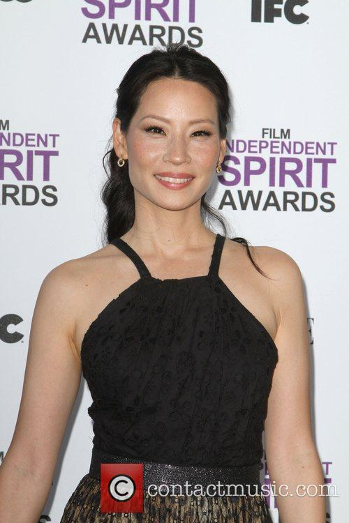 Lucy Liu and Independent Spirit Awards 3
