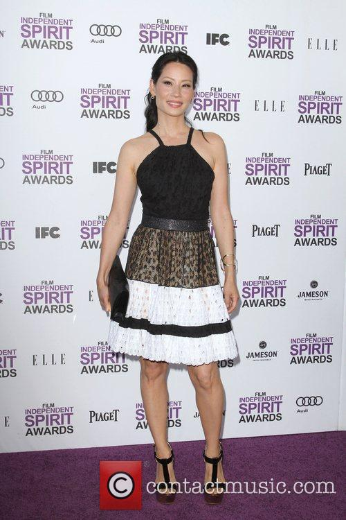 Lucy Liu and Independent Spirit Awards 4