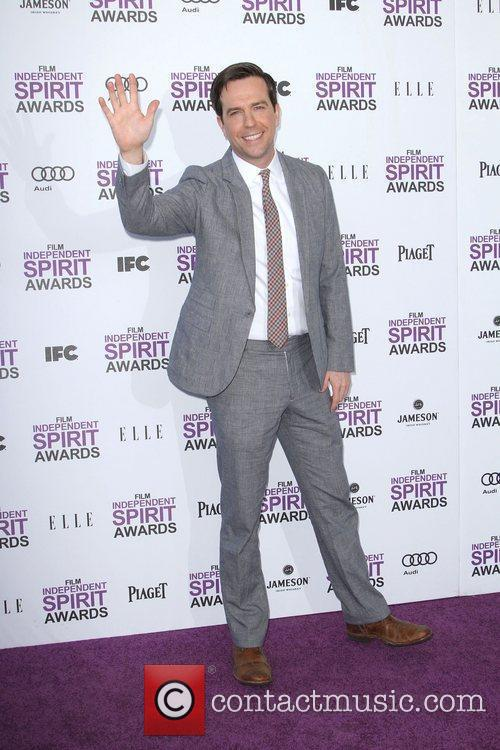 Ed Helms and Independent Spirit Awards 1